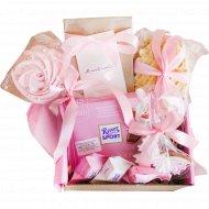 Подарочный набор «So cute box» Розовый, средний