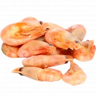 Креветки северные неразделанные, варено-мороженые, 1 кг., фасовка 0.3-0.5 кг