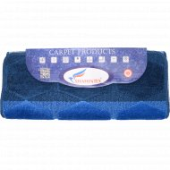 Набор ковриков для ванны «Shahintex» 60х100+60х50 см, темно-синий.