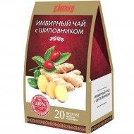 Напиток чайный «БелТея» имбирный с шиповником, 20х1.5 г.