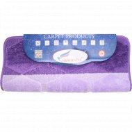 Коврик для ванны «Shahintex» 60х100 см, фиолетовый микс.