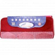 Набор ковриков для ванны «Shahintex» 60х100+60х50 см, бордовый микс.
