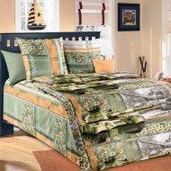 Комплект постельного белья «Моё бельё» Танк 2, полуторный