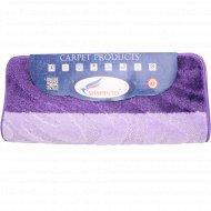 Набор ковриков для ванны «Shahintex» 60х100+60х50 см, фиолетовый.