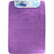 Коврик для ванны «Shahintex» фиолетовый, 60х90 см.