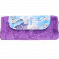 Набор ковриков для ванны «Shahintex» эко 60х90+60х50 см, фиолетовый.
