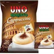 Кофейный напиток растворимый «Uno momento» капучино, 10х25.5 г.