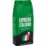 Кофе в зернах «Coffee Bank» Espresso ItaliaNo House Blend, 1 кг.