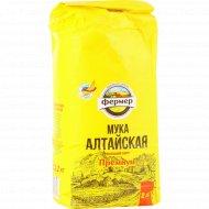 Мука «Алтайская» премиум, высший сорт, 2 кг.
