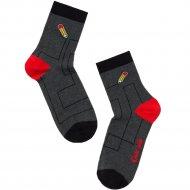 Носки детские «Tip-Tot» темно-серые, размер 20.