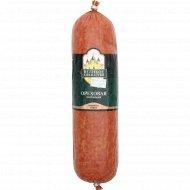 Колбаса варено-копченая салями «Ореховая любимая» первого сорта, 1 кг., фасовка 0.5-0.6 кг