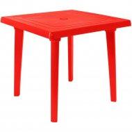 Стол «Моспласт» Алеана, 100012, красный