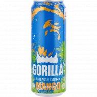 Напиток энергетический «Gorilla» манго, 0.45 л