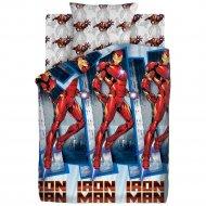 Комплект постельного белья «Мстители» Железный человек, 70х70