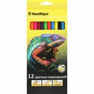 Набор цветных карандашей «Hanz Koger» 12 цветов.