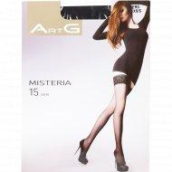 Чулки женские «ArtG» Misteria, 15 den, размер 1-2, nero.