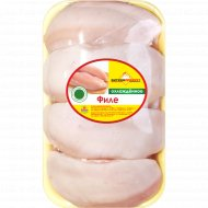 Филе цыплёнка-бройлера «Витконпродукт» охлажденное 1 к., фасовка 1-1.23 кг