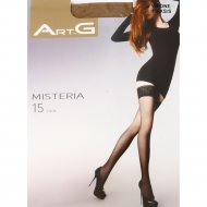 Чулки женские «ArtG» Misteria, 15 den, 1-2, visone.