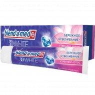 Зубная паста «Blend-a-med» 3D White утренний лотос, 100 мл
