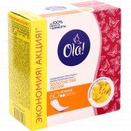 Прокладки женские «Ola!» золотистая лилия, ежедневные, 60 шт