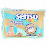 Подгузники-трусики «Senso Baby» размер 4 Maxi, 9-14 кг, 30 шт.
