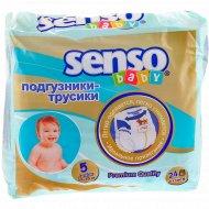 Подгузники-трусики «Senso Baby» Junior, размер 5, 12-15 кг, 24 шт.