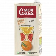 Напиток «Моя семья» цитрус-хитрус, 1.93 л.