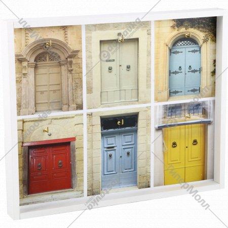 Ключница «Двери» 32.4х25.6х3 см.