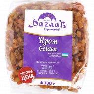 Изюм «Bazaar с изюминкой» желтый без косточек, 300 г.