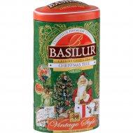 Чай зеленый листовой «Basilur» Рождественская ель, 100 г.