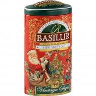 Чай чёрный листовой «Basilur» Новогодний подарок, 100 г.