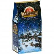 Чай чёрный листовой «Basilur» Морозная ночь, 100 г.