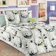 Комплект постельного белья «Моё бельё» Веселые панды, полуторный