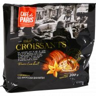 Мини круассаны «Cafe de Paris» со вкусом ванили, 200 г.