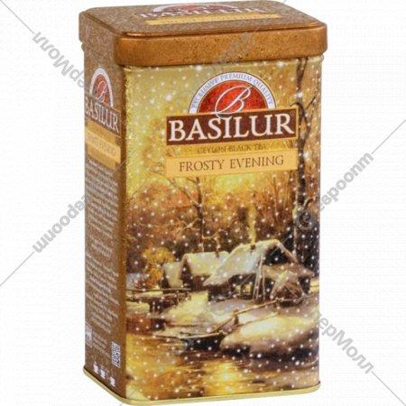 Чай чёрный листовой «Basilur» Морозный вече, 85 г.