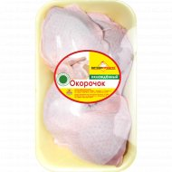 Окорочок цыпленка-бройлера «Витконпродукт» охлажденный 1 к., фасовка 0.8-0.9 кг
