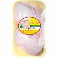 Окорочок цыпленка-бройлера «Витконпродукт» охлажденный 1 к., фасовка 0.4-0.7 кг