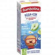 Напиток яблочный «Bambolina» с экстрактом ромашки, 200 мл.