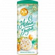 Чай зеленый листовой «Hyleys» подарочный «С Новым Годом!» 50 г.