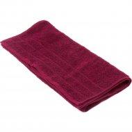 Полотенце махровое «Foroom» 50 х 90 см, бордовый.