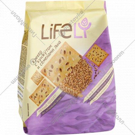 Крекер «Lifely» с кунжутом и семенами льна, 180 г.