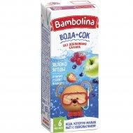 Напиток для детского питания «Bambolina» смесь фруктов и ягод, 200 мл.