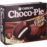 Печенье-бисквит «Чоко Пай Орион» Дарк Какао, 12х30г 360г