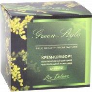 Крем-комфорт мультиактивный «Green Style» для сухой кожи лица, 45 г.