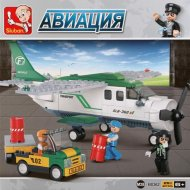 Конструктор «Sluban» Транспортный самолет