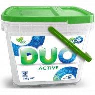 Универсальный концентрированный порошок для стирки «Duo Active» 1.8 кг.