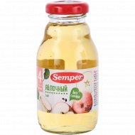 Сок «Semper» яблочный, 200 мл.