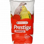 Полнорационный сухой корм «Prestige» для крупных попугаев, 15 кг.