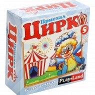 Карточная игра «Приехал цирк».