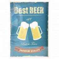 Копилка «Best Beer» для пивных пробок, 21х30x50 см.